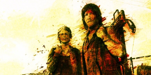 WD Carol and Daryl fan art