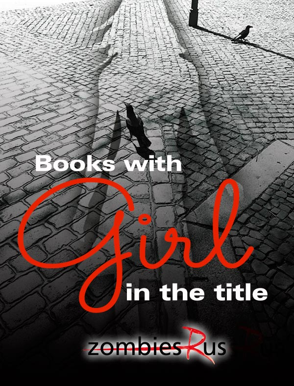 book cover with girl in the title